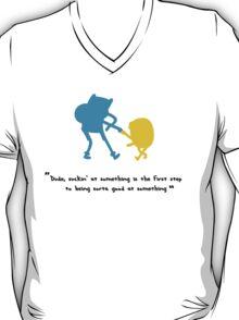Fin & Jake - Sorta Good At Something Colour Shaddow Version T-Shirt