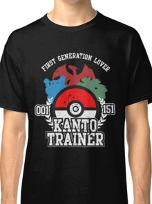 1st Generation Trainer (Dark Tee) Classic T-Shirt