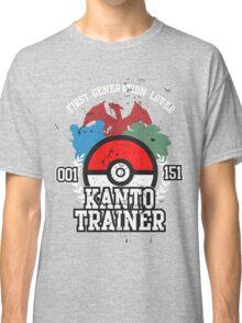 1st Generation Trainer (Dark Tee) Classic T-Shirt
