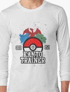 1st Generation Trainer (Dark Tee) Long Sleeve T-Shirt
