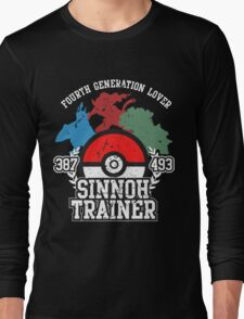 4th Generation Trainer (Dark Tee) Long Sleeve T-Shirt