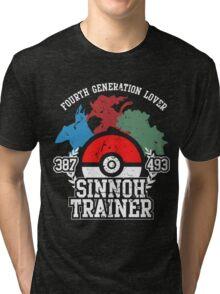 4th Generation Trainer (Dark Tee) Tri-blend T-Shirt
