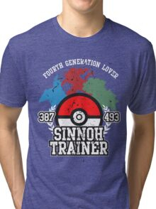 4th Generation Trainer (Dark Tee) Tri-blend T-Shirt