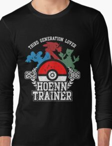 3th Generation Trainer (Dark Tee) Long Sleeve T-Shirt