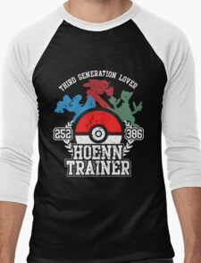 3th Generation Trainer (Dark Tee) Men's Baseball ¾ T-Shirt