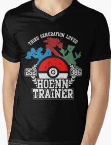3th Generation Trainer (Dark Tee) Mens V-Neck T-Shirt
