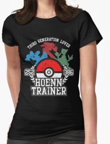 3th Generation Trainer (Dark Tee) Womens Fitted T-Shirt