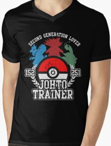 2nd Generation Trainer (Dark Tee) Mens V-Neck T-Shirt