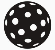 Black Floorball One Piece - Short Sleeve