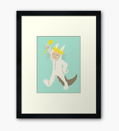 Where The Wild Things Are: Max Framed Print