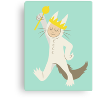 Where The Wild Things Are: Max Canvas Print