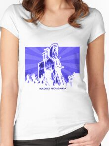Rolodex Propaganda Women's Fitted Scoop T-Shirt