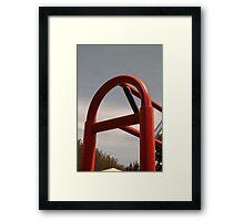 Playground Equipment Framed Print