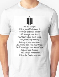 Doctor's end T-Shirt