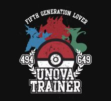 5th Generation Trainer (Dark Tee) One Piece - Long Sleeve