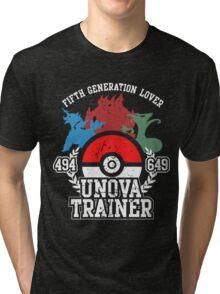 5th Generation Trainer (Dark Tee) Tri-blend T-Shirt