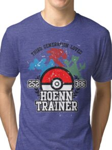 3th Generation Trainer (Light Tee) Tri-blend T-Shirt