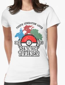 4th Generation Trainer (Light Tee) Womens Fitted T-Shirt
