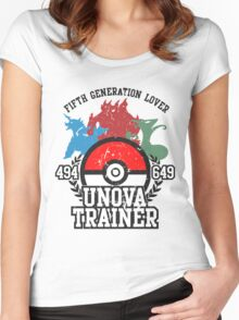 5th Generation Trainer (Light Tee) Women's Fitted Scoop T-Shirt