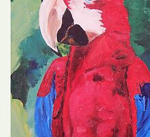 Parrot Scarlet Macaw Tropical Bird - iPhone iPod & iPad Tablet Covers by PhoneCase
