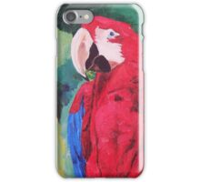 Parrot Scarlet Macaw Tropical Bird - iPhone iPod & iPad Tablet Covers iPhone Case/Skin