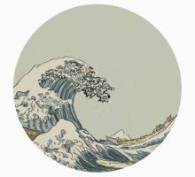handdrawn great wave T-Shirt
