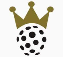 Floorball champion crown by Designzz