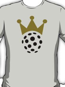 Floorball champion crown T-Shirt