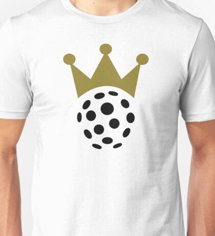 Floorball champion crown Unisex T-Shirt