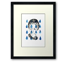 In Rain or SHINee; illustration Framed Print