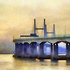 Severn Bridge, Bristol, UK by buttonpresser