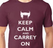 Keep Calm & Carrey On Unisex T-Shirt
