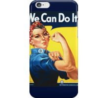 We Can Do It! iPhone Case/Skin
