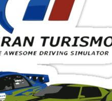The Awesome Driving Simulator! Sticker