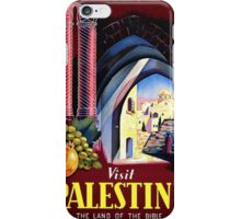 Visit Palestine iPhone Case/Skin