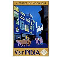 Visit India Photographic Print