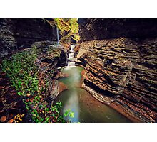 Watkins Glen Gorge Photographic Print