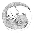 Yinyang cats; illustration by Julia Major
