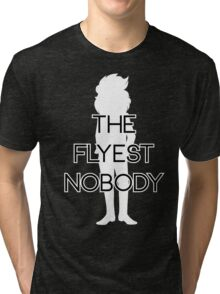 THE FLYEST NOBODY Silhouette 2 Tri-blend T-Shirt