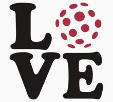 Floorball love ball by Designzz
