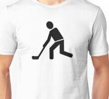 Floorball Player Unisex T-Shirt