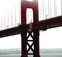 UNDER THE GOLDEN GATE BRIDGE by JAYMILO