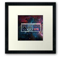 GALACTiC NES  Framed Print