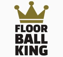 Floorball king champion by Designzz