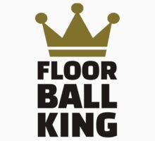 Floorball king champion Kids Clothes