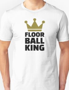 Floorball king champion Unisex T-Shirt