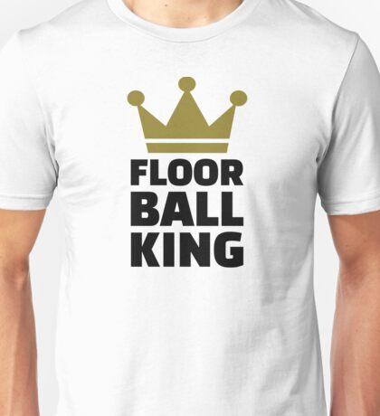 Floorball king champion Unisex T-Shirt