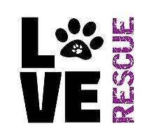 Love Rescue Photographic Print