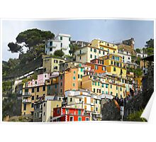 All About Italy. Piece 7 - Riomaggiore Spirit Poster