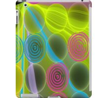 Spiral green iPad Case/Skin